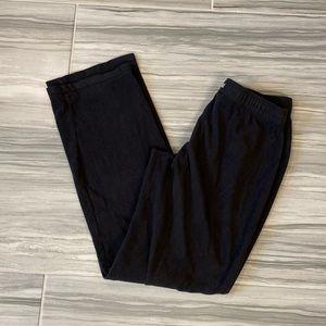COLUMBIA Black Fleece High Rise Sweatpants Small